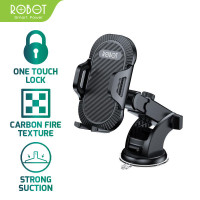 ROBOT RT-CH12 SUCTION CUP AUTOMATIC LOCK 360 UNIVERSAL CAR HOLDER