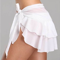 Rok Sifon Lilit Mini Sexy Cover Baju Renang/Pantai Wanita