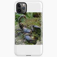 Casing Iphone 11 12 X XR XS Pro Max Asian Forest Scorpion 304139