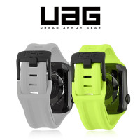 Uag Strap Apple Watch 38 40 42 44mm Seri 1/2/3/4/5/6 Bahan Silikon