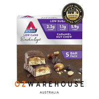 Atkins Endulge Bar Caramel Nut Multi Pack 5x34g