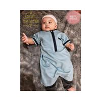 KA177 Baju koko gamis bayi laki-laki newborn