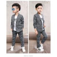 Setelan jas tuxedo anak 6-12 tahun Teen 083 Baju anak laki laki import