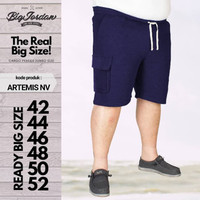 ARTEMIS celana pendek santai jumbo size 42 44 46 48 50 52 bigsize