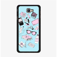 Hardcase Casing Samsung Galaxy J7 Prime Fill The Bag Girl P0284