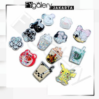 HOT FYGALERYJAKARTA - Popsocket Glitter Liquid Karakter Bubble Tea