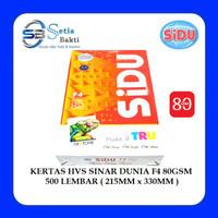 PROMO KERTAS HVS FOTOCOPY SINAR DUNIA F4 FOLIO 80 GSM 500 LBR KTG