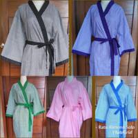 NEW Bathrobe Baju Tidur Kimono Pasien Spa Pria Wanita size Jumbo