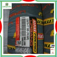 Aspira Premio Urbano 120/70 velg 17 ban belakang tubless motor vixion