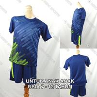 Setelan Baju/Kaos Sepak Bola/Futsal Dri-Fit Print Anak Nike NK147