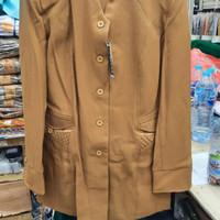 Promo Besar Baju Blazer Seragam Pemda Cewe Pns Cantik Khaki Keki Murah