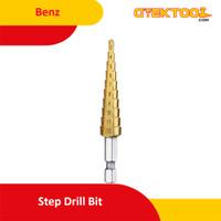 Benz Mata Bor Pagoda 10 Step Drill 3-12 mm