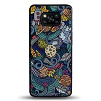 Casing Case Xiaomi Poco X3 NFC Doodle art EN0462