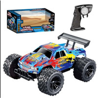 RC Mobil Mainan Rock Crawler Sand Monster 1:16 Off Road Truck 2.4GHz