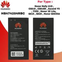 Battery Batre Baterai Huawei Honor 3C Lite HB474284RBC