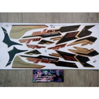 Lis Striping Sticker Mio Sporty Limited Edition Coklat