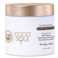 Coco Soul Ayurvedic & Coconut Body Butter - 6.76 fl.oz. (200g) - Shea