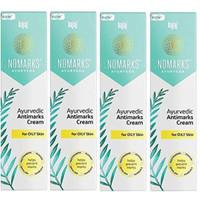 Bajaj Nomarks Ayurvedic Antimarks Cream For Oily skin - 25g (Pack of 4