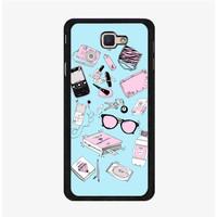 Casing Case Samsung Galaxy J7 Prime Fill The Bag Girl P0284
