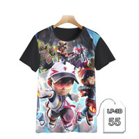 Kaos Anak Boboiboy 3D Baju Tokoh Kartun TV #LP3D-55