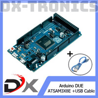 Dijual Arduino DUE + USB Cable Diskon