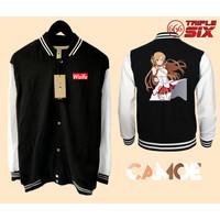 Jaket Varsity Premium Anime Asuna sword art online
