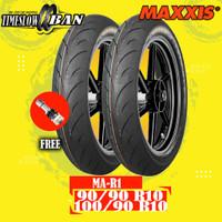 Paket Ban Motor VESPA CLASSIC MAXXIS MA-R1 90/90 100/90 R10 Tubeless