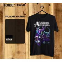 Kaos Digital Sablon Asking Alexandria Band Limited Series 01