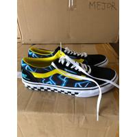 Sepatu Sneaker Vans OS MINDSEEKER JAPAN MARKET BLACK/BLUE