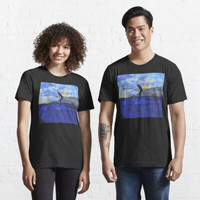 Kaos Distro Out for some Air Kick Scooter and Graffiti 235047 shirt