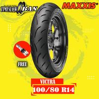 Ban Depan Motor PCX MAXXIS VICTRA 100/80 R14 Tubeless