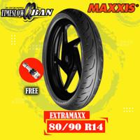 Ban Motor MAXXIS EXTRAMAXX M6233W 80/90 R14 Tubeless