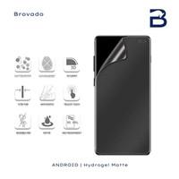 Hydrogel Matte Depan Belakang Xiaomi Redmi Note 9 Screen Anti Gores