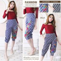 Jogger Pendek Wanita - Celana Pendek Batik Modern - Celana Batik Murah