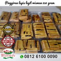 MoS PINGGIRAN KUE LAPIS LEGIT WISMAN 250 GRAM