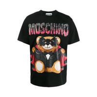 Moschino T-Shirt Slim Fit Teddy Batman Black