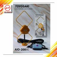 Unik Antenna TV Luar / Antena / Antene Outdoor Toyosaki AIO 200 Diskon