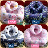 Sofa Bayi Menyusui lengkap dengan bantal leher menyangga botol susu