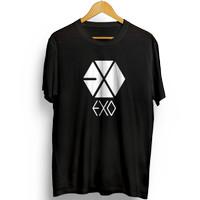 Baju Kaos Distro Pria Kpop EXO - MU512EXO T shirt keren