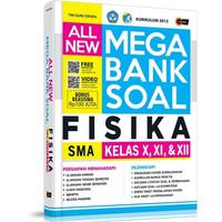 Buku All New Mega Bank Soal Fisika SMA Kelas X, XI, & XII
