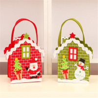 ristmas Non-woven Fabric Party Paper Favour Gift Cupcake Apple