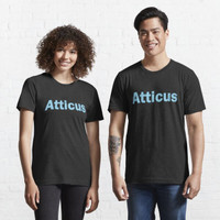 Kaos Distro Atticus name personalised lettering text 1220 198440 shirt