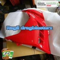 MTRABD fairing atas ninja 250 fi merah kiri original kawasaki kgp