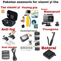 Paketan assesoris for xiaomi yi lite / xiaomi yi 4k plus MV3518