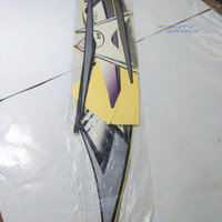 STRIPING LIS MS2SL2417 Mio J 2013 Sporty Hitam Ungu MTP0720