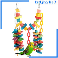 Enjoylife Colorful Parrot Macaw Cage Chew Toys Pet Bird Finch Swing