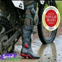 New Ori Sepatu Boot Boots AP MOTO 3 Touring Motor Cross Trail