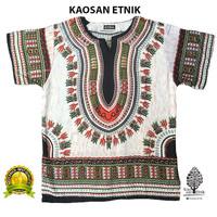 LOR - Baju Etnik Kaos Etnik Dashiki Bohemian Style All Size Pria Wanit