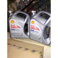 O00 Oli Shell Helix Hx 8 Synthetic Sae 5W-30 Galon 4 Liter Original