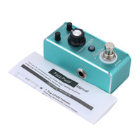 Rowin LEF-606 Pedal Efek Gitar Elektrik Mini Portable Fuzz